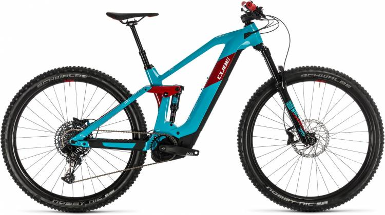 Cube Stereo Hybrid 140 HPC Race 625 29 petrol n red 2020 - E-Bike Fully Mountainbike