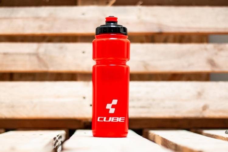 Cube Trinkflasche 0,75l Icon red