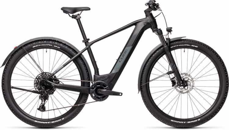 Cube Reaction Hybrid Pro 500 29 Allroad black n grey 2021 - E-Bike Hardtail Mountainbike