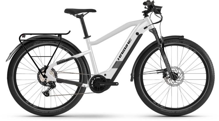 Haibike Trekking 8 i630Wh sparkling white 2021 - E-Bike Trekkingrad Herren