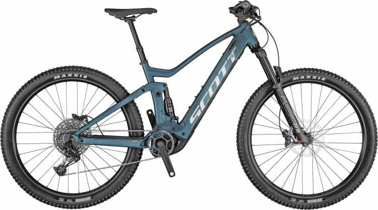 Scott Strike eRIDE 930 juniper blue / black 2021 - E-Bike Fully Mountainbike