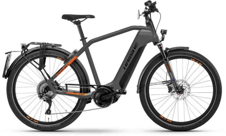 Haibike Trekking S 10 i625Wh 45Km/h titan/lava matte 2021 - E-Bike Trekkingrad Herren