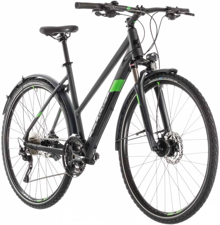 Cube Cross Allroad iridium n green - Trapez 2019