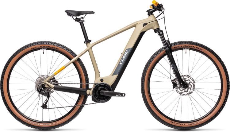 Cube Reaction Hybrid Performance 500 desert n orange 2021 - E-Bike Hardtail Mountainbike