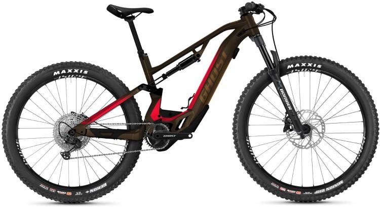 Ghost Hybride ASX Essential 130 brown / pink 2021 - E-Bike Fully Mountainbike