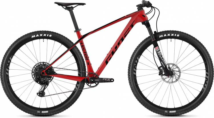 Ghost Lector 3.9 LC U riot red / jet black 2020 - Hardtail Mountainbike