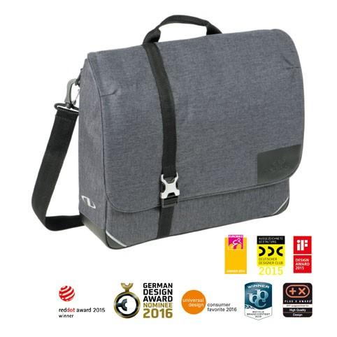 Norco Finsbury Commuter Tasche grau 40x33x10cm