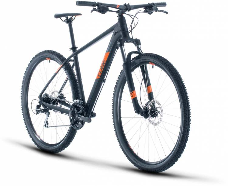 Cube Aim Pro black n orange 2020 - Hardtail Mountainbike