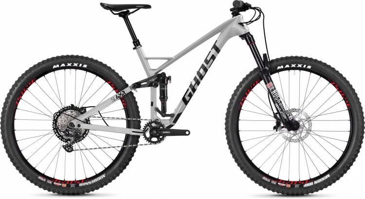 Ghost Slamr 6.9 LC U iridium silver / jet black / riot red 2020 - Fully Mountainbike
