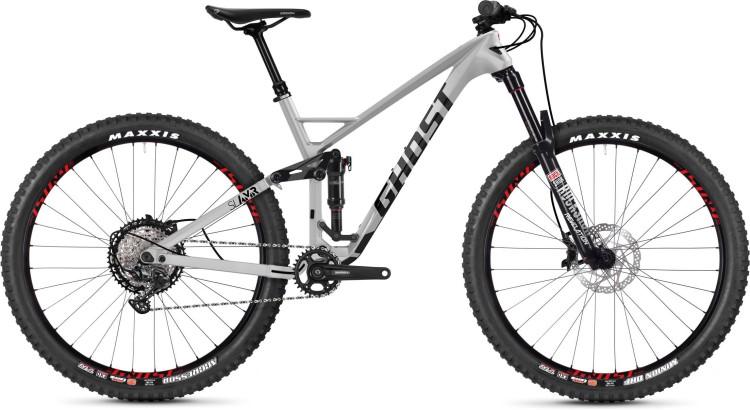 Ghost Slamr 6.9 LC U iridium silver / jet black / riot red 2020 - Fully Mountainbike