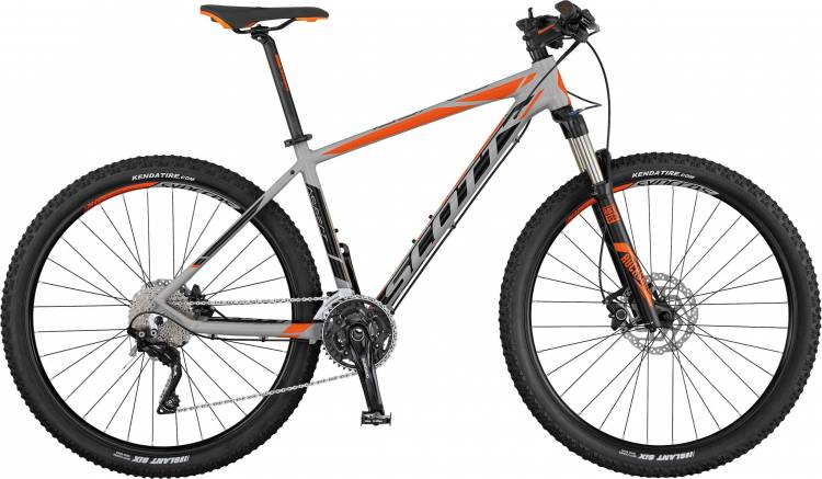 Scott Aspect 710 grey/black/orange 2017