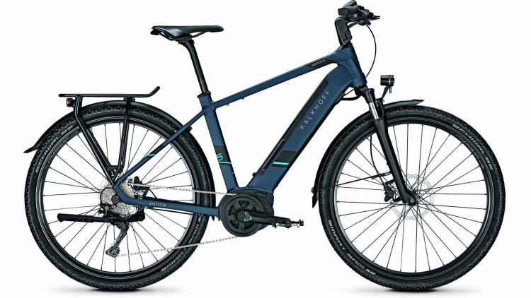 Kalkhoff Entice 5.B XXL deepskyblue matt (Diamond) 2020 - E-Bike Trekkingrad Herren