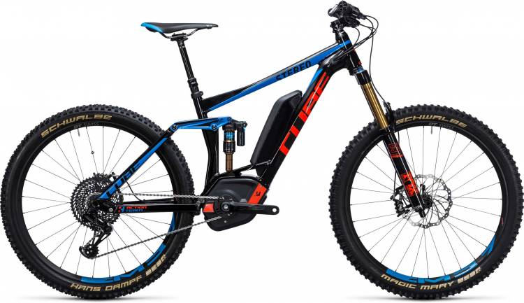 Cube Stereo Hybrid 160 HPA Action Team 500 27.5 action team 2017