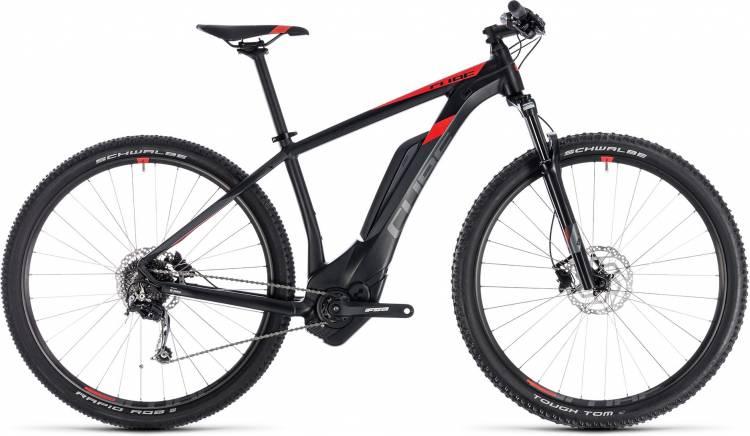 Cube Reaction Hybrid ONE 400 black n red 2018 - E-Bike Hardtail Mountainbike