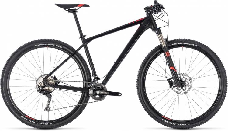 Cube Reaction Pro black n red 2018 - Hardtail Mountainbike