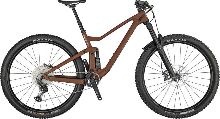 Scott Genius 930 ochre orange / grey 2021 - Fully Mountainbike