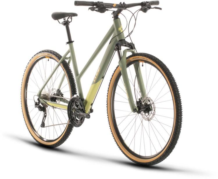 Cube Nature EXC green n orange 2020 - Crossrad Damen