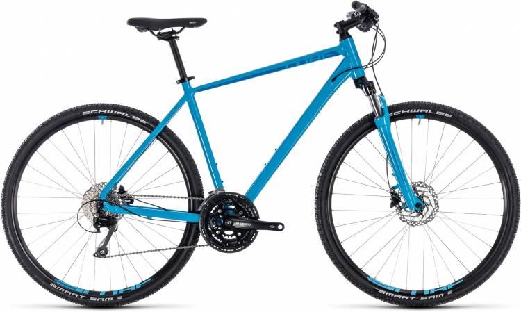 Cube Nature EXC blue n blue 2018 - Herren Crossrad