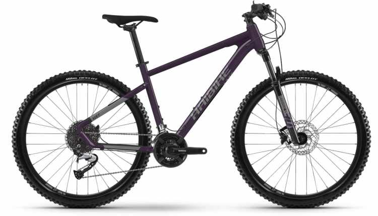 Haibike Seet 7 schwarz/titan 2021 - Hardtail Mountainbike