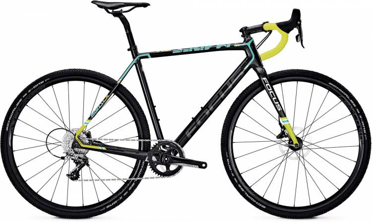Focus Mares Rival carbon/blue/green 2017 - Cyclocross