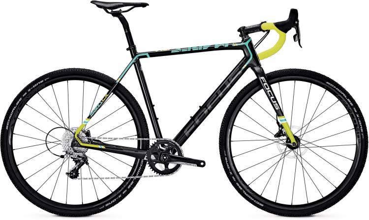 Focus Mares Rival carbon/blue/green 2017