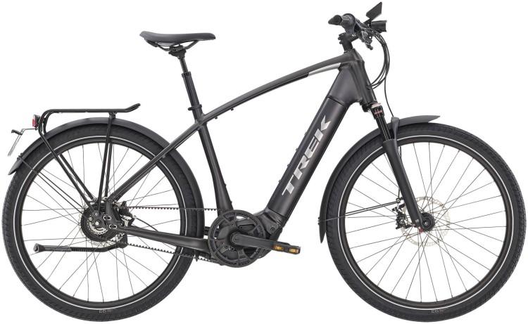 Trek Allant+ 9S Matte Dnister Black 45km/h 2020 - E-Bike Trekkingrad Herren