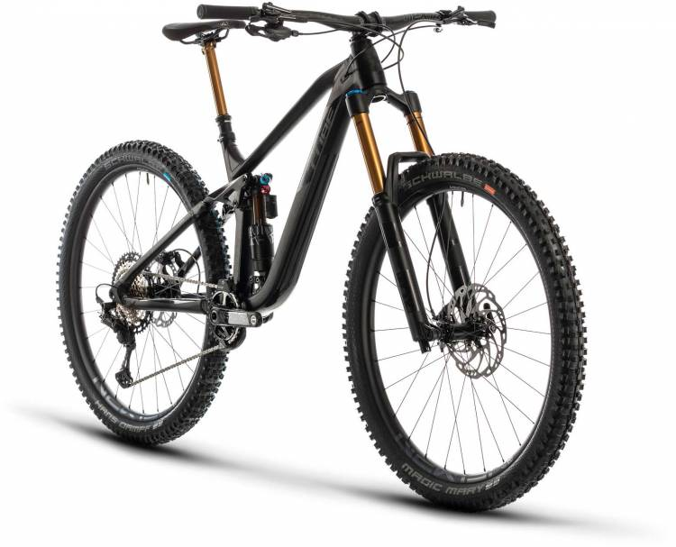 Cube Stereo 170 SL 29 black anodized 2020 - Fully Mountainbike