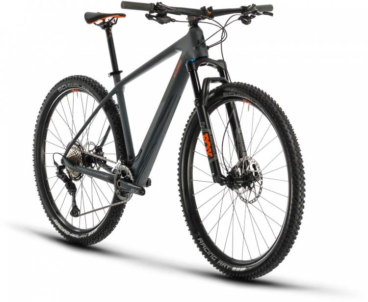 Cube Reaction C:62 Race grey n orange 2x12 2020 - Hardtail Mountainbike