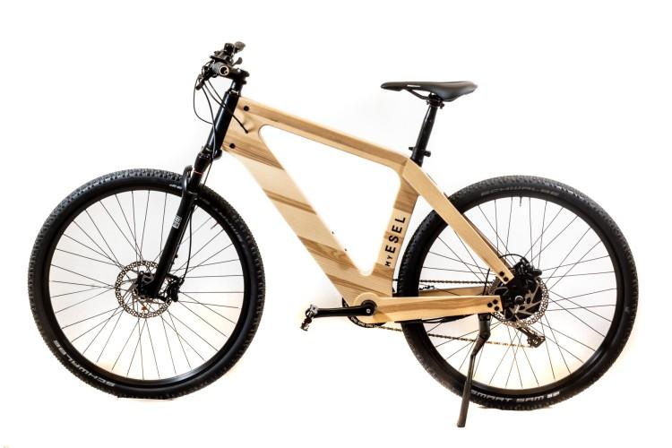 My Esel E-Cross (Esche) E-Bike Crossrad Herren incl. Ständer