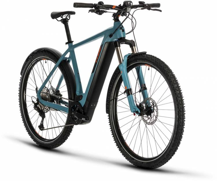 Cube Cross Hybrid Race 500 Allroad blue n orange 2020 - E-Bike Crossrad Herren