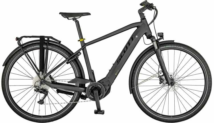 Scott Sub Sport eRIDE 20 Men dark grey / gold polished / black 2021 - E-Bike Trekkingrad Herren