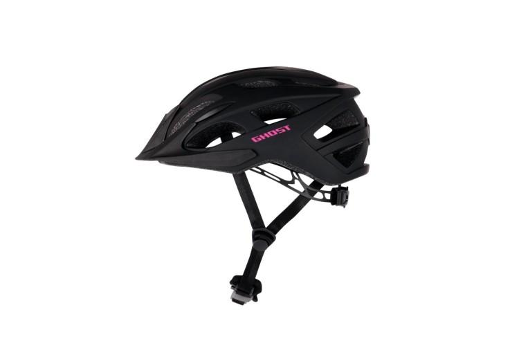 Ghost Helm Classic night black / dark fuchsia pink