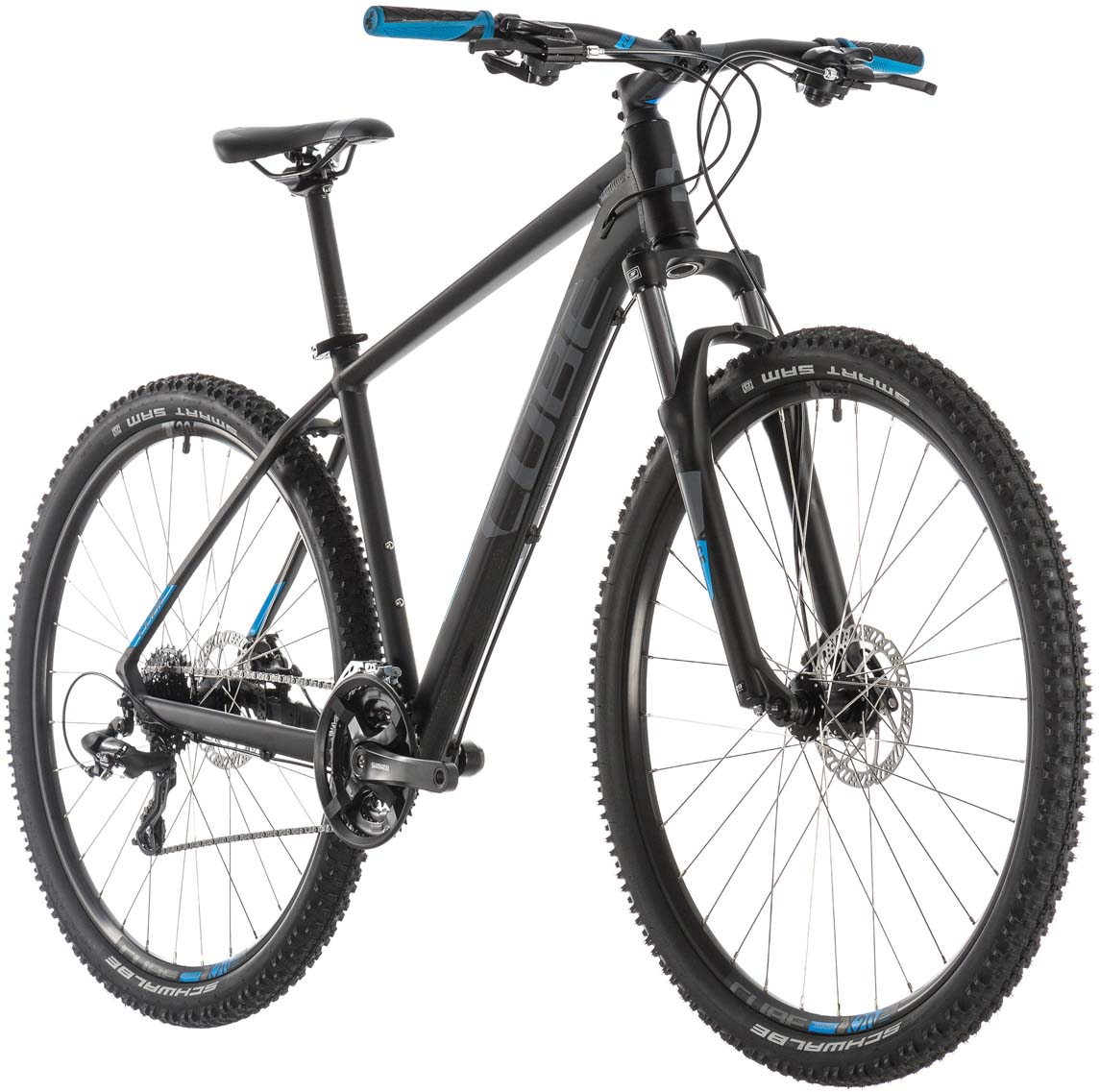 cube aim black n blue mountainbike hardtail g nstig online. Black Bedroom Furniture Sets. Home Design Ideas