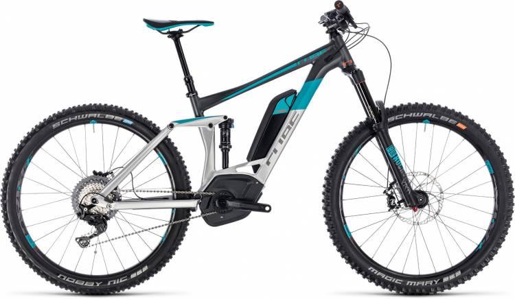 Cube Stereo Hybrid 160 Race 500 27.5 metal n grey 2018 - E-Bike Fully Mountainbike