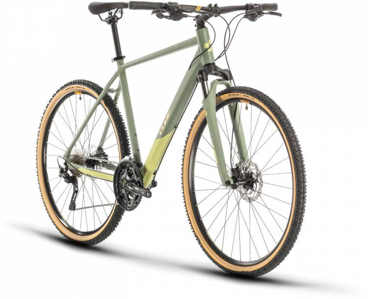 Cube Nature EXC green n orange 2020 - Crossrad Herren