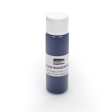 WaterRower Wasserfarbe Blau
