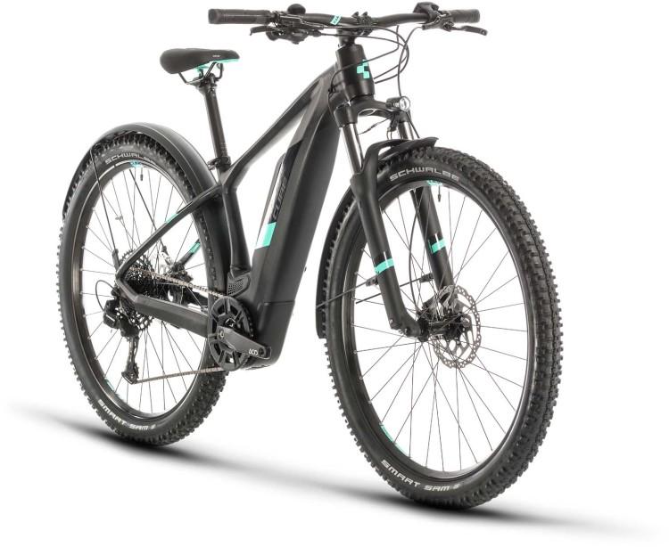 Cube Access Hybrid Pro 500 Allroad black n mint 2020 - E-Bike Hardtail Mountainbike