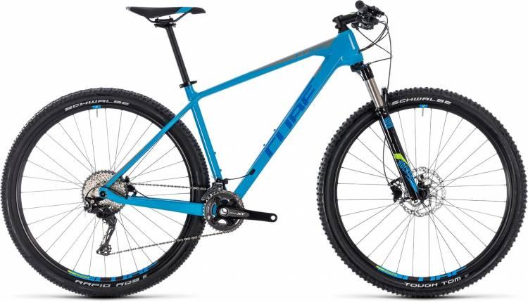 Cube Reaction C:62 blue n grey 2018 - Hardtail Mountainbike