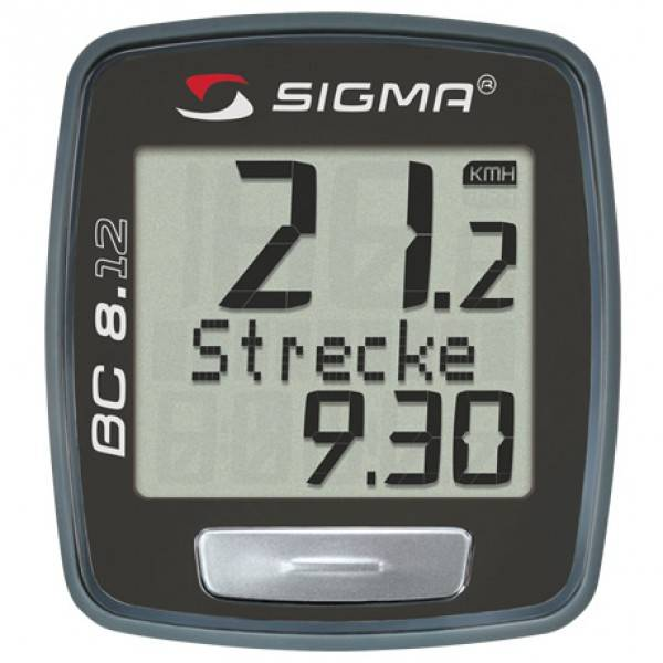 Sigma BC 8.12 Fahrradcomputer