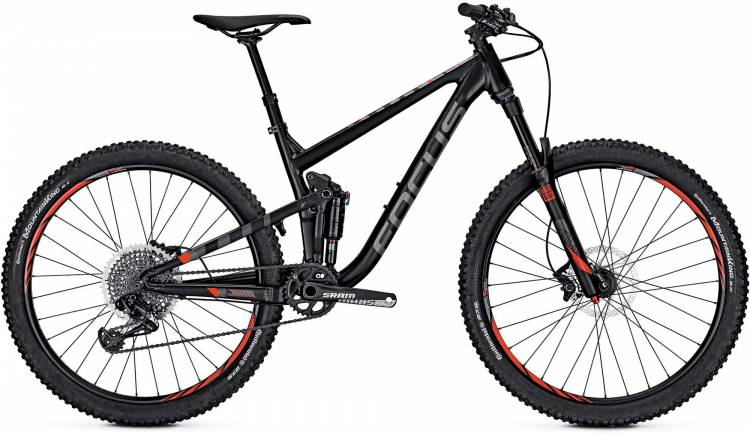 Focus Jam Lite 27 magic black/matt 2017 - Fully Mountainbike