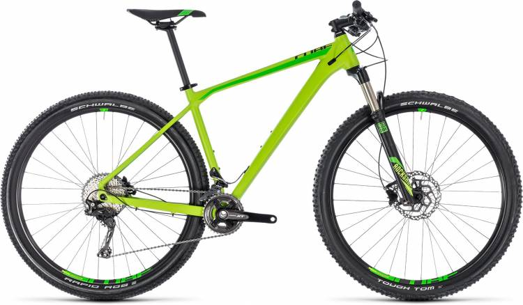 Cube Reaction Pro green n black 2018 - Hardtail Mountainbike