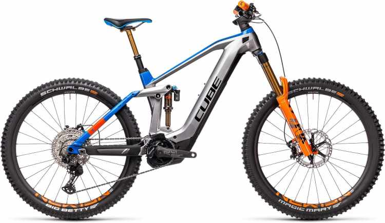 Cube Stereo Hybrid 160 HPC Actionteam 625 27.5 Kiox actionteam 2021 - E-Bike Fully Mountainbike