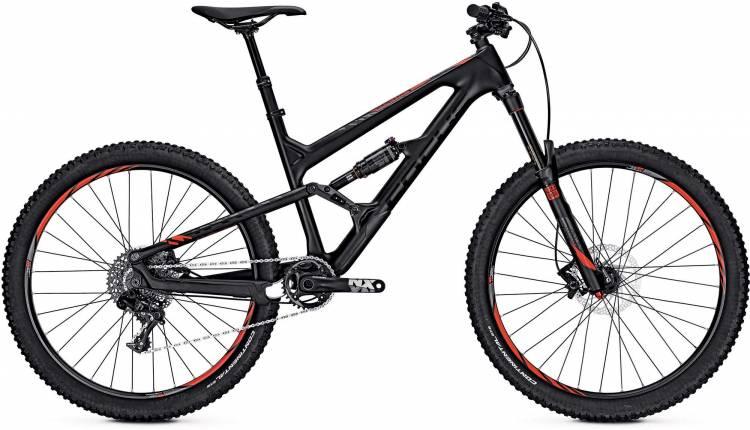 Focus Sam C SL 27 black/red 2017 - Fully Mountainbike