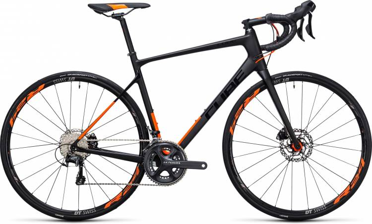 Cube Attain GTC SL Disc carbon n flashorange 2017