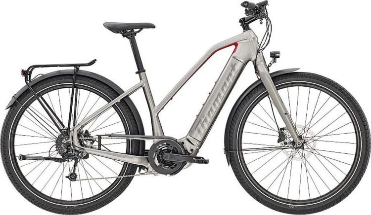 Diamant Zouma+ Gor Iridiumsilber Metallic 2020 - E-Bike Trekkingrad Damen