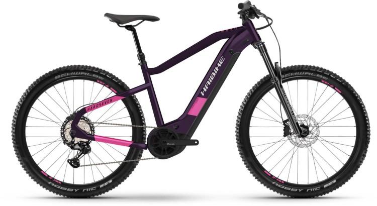 Haibike HardSeven 8 630Wh indigo/razzmatazz 2021 - E-Bike Hardtail Mountainbike Damen