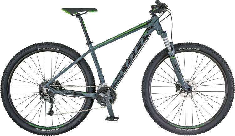 Scott Aspect 740 grey/green 2018 - Hardtail Mountainbike