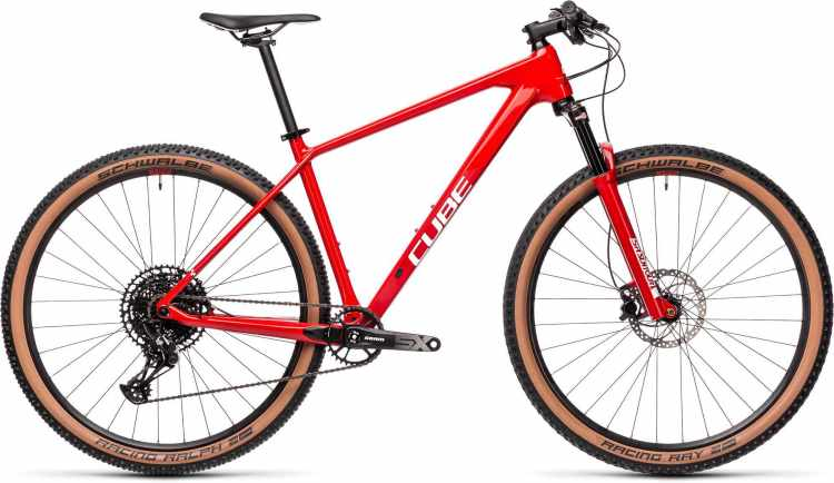 Cube Reaction C:62 One red n white 2021 - Hardtail Mountainbike