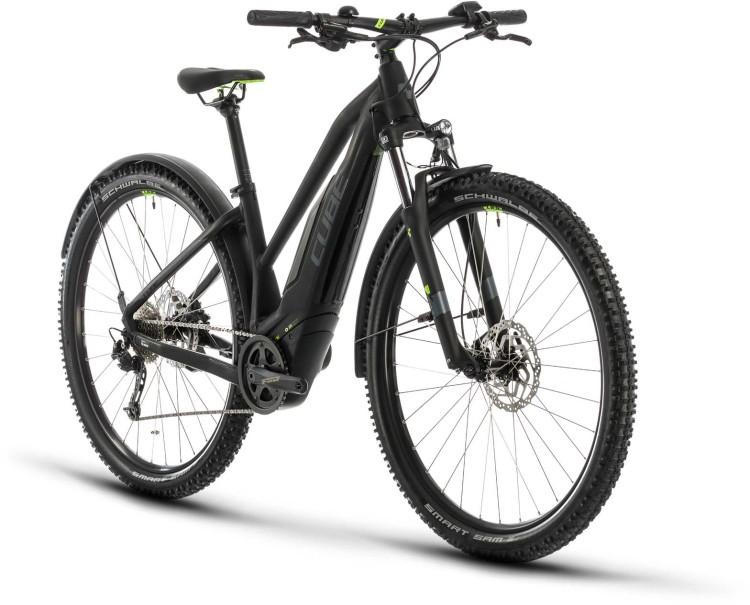 Cube Acid Hybrid ONE 500 Allroad 29 black n green 2020 - E-Bike Hardtail Mountainbike Damen