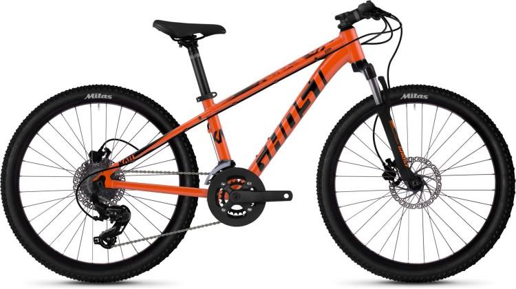 Ghost Kato D4.4 AL U monarch orange / jet black 2020 - Kinderrad 24 Zoll